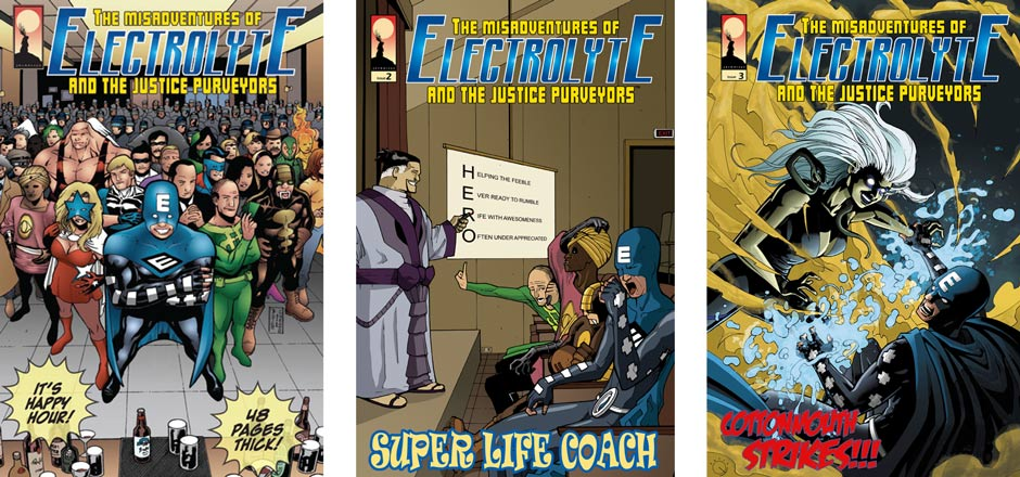 The Justice Purveyors Covers